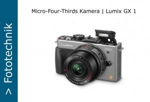 MFT Panasonic Lumix DMC-GX1