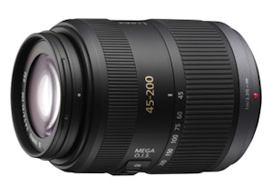 Panasonic Lumix G Vario 45-200mm (Bild: Panasonic)