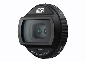 Panasonic 3D Lumix G Objektiv 12,5mm (Bild: Panasonic)