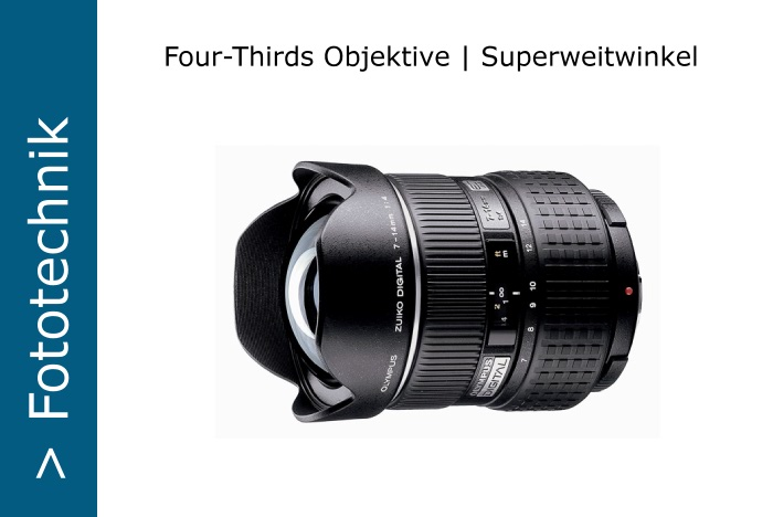 Four-Thirds Superweitwinkel