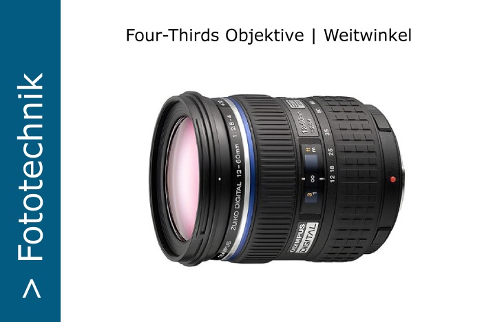 Four-Thirds Weitwinkel