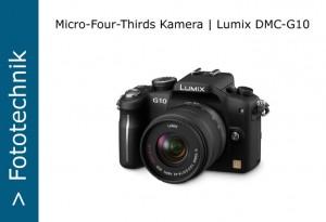 Panasonic Lumx DMC-G10