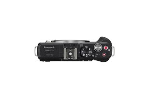 Panasonic Lumix DMC-GX1 - schwarz, von oben ohne Objektiv (Bild: Panasonic)