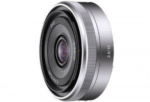 E-Mount Objektiv Sony E 16mm F2,8