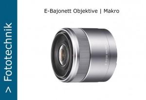 Sony Nex E-Objektive Makro