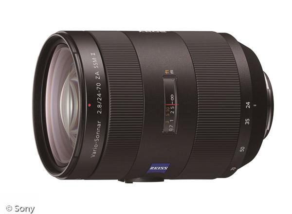 Sony Vario-Sonnar® T* 24-70 mm F2,8 ZA SSM II (Bild: Sony)