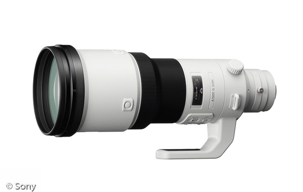 Sony 500 mm F4 G SSM (Bild: Sony)