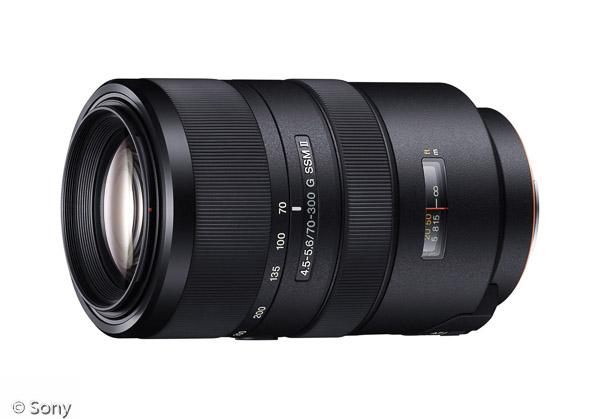 Sony 70-300 mm F4,5-5,6 G SSM II (Bild: Sony)