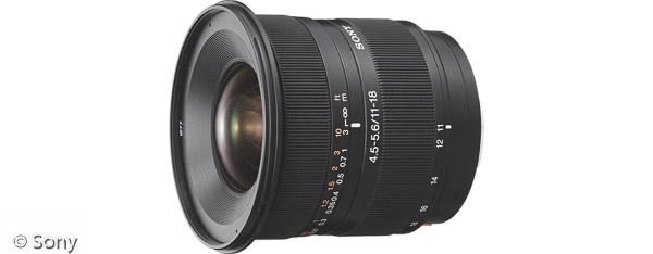 Sony DT 11-18 mm F4,5-5,6 (Bild: Sony)