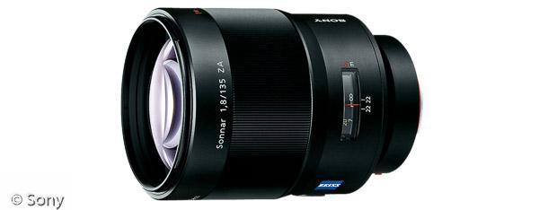 Sony Sonnar T* 135 mm F1,8 ZA (Bild: Sony)