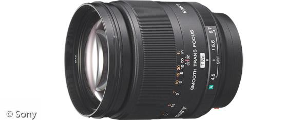 Sony 135 mm F2,8 [T4,5] STF Objektiv (Bild: Sony)