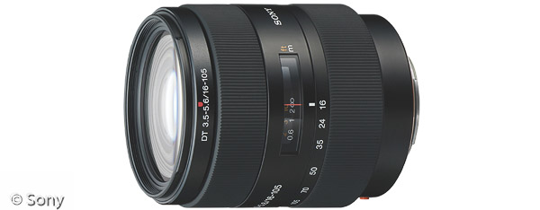 Sony DT 16-105 mm F3,5-5,6 (Bild: Sony)
