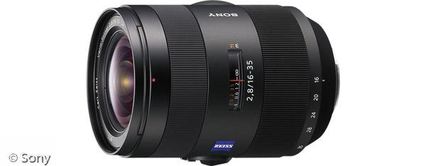 Sony Vario-Sonnar® T* 16-35 mm F2,8 ZA SSM (Bild: Sony)