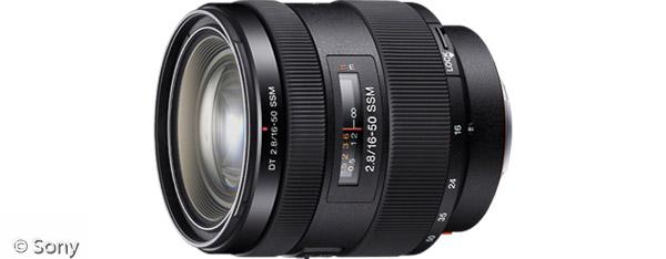 Sony DT 16-50 mm F2,8 SSM (Bild: Sony)