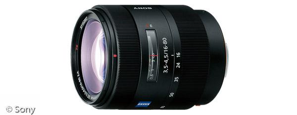 Sony Vario-Sonnar® T* DT 16-80 mm F3,5-4,5 ZA (Bild: Sony)