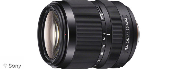 Sony DT 18-135 mm F3,5-5,6 SAM (Bild: Sony)