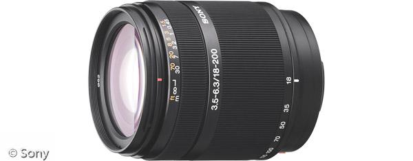 Sony DT 18-200 mm F3,5-6,3 (Bild: Sony)
