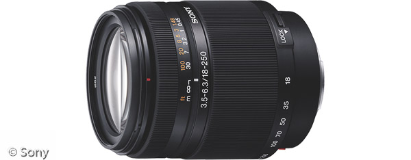 Sony DT 18-250 mm F3,5-6,3 (Bild: Sony)