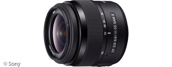 Sony DT 18-55 mm F3,5-5,6 SAM II (Bild: Sony)