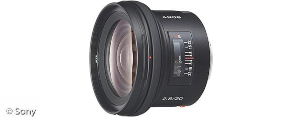 Sony 20 mm F2,8 (Bild: Sony)
