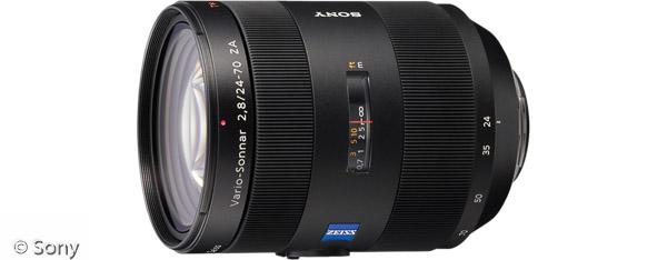 Sony Vario-Sonnar® T* 24-70 mm F2,8 ZA SSM (Bild: Sony)