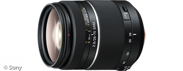 Sony 28-75 mm F2,8 SAM (Bild: Sony)