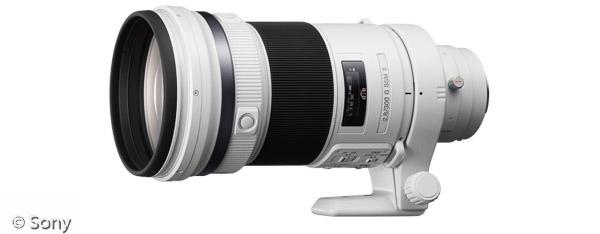 Sony 300 mm F2,8 G SSM II (Bild: Sony)