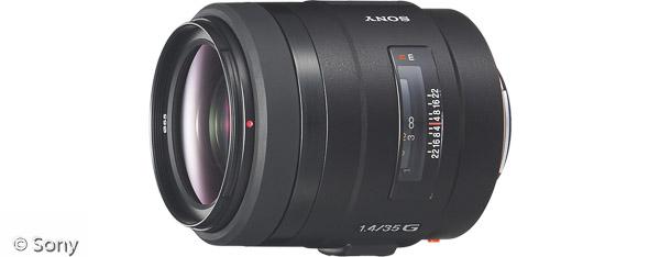 Sony 35 mm F1,4 G (Bild: Sony)