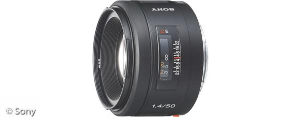 Sony 50 mm F1,4 (Bild: Sony)