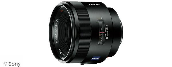 Sony Planar T* 50 mm F1,4 ZA SSM (Bild: Sony)