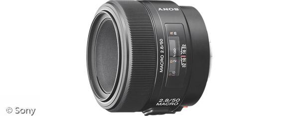 Sony 50 mm F2,8 Makro (Bild: Sony)