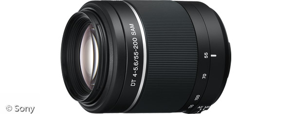Sony DT 55-200 mm F4-5,6 SAM (Bild: Sony)