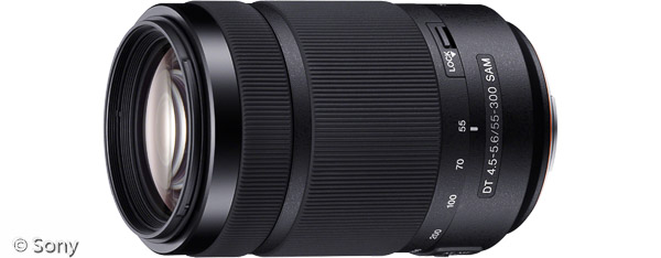 Sony DT 55-300 mm F4,5-5,6 SAM (Bild: Sony)