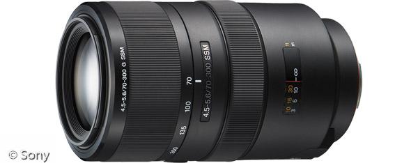 Sony 70-300 mm F4,5-5,6 G SSM (Bild: Sony)
