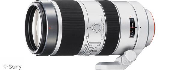 Sony 70-400 mm F4-5,6 G SSM (Bild: Sony)