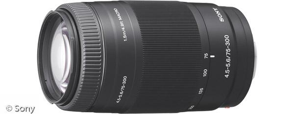 Sony 75-300 mm F4,5-5,6 (Bild: Sony)