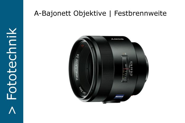 Sony-A-Objektive-Festbrennweite