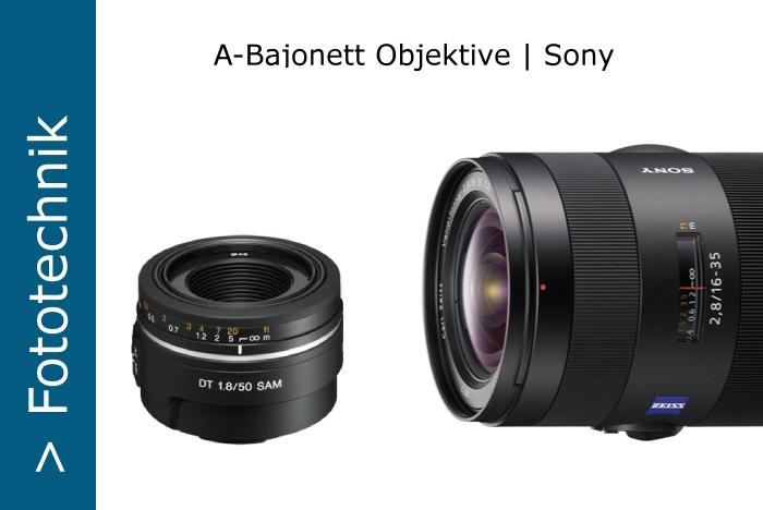 Sony-A-Objektive