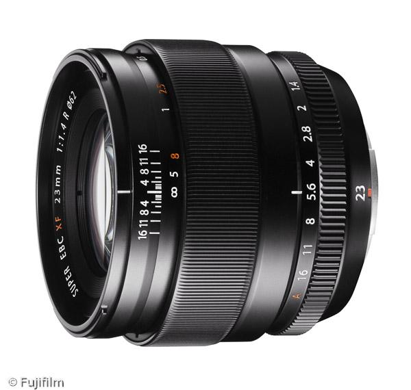 FUJINON XF 23mm F1.4 R (Bild: Fujifilm)