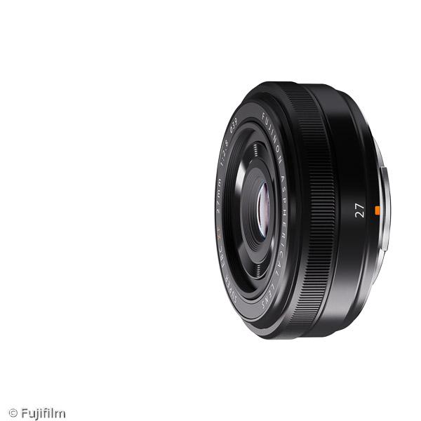 FUJINON XF 27mm F2.8 (Bild: Fujifilm)