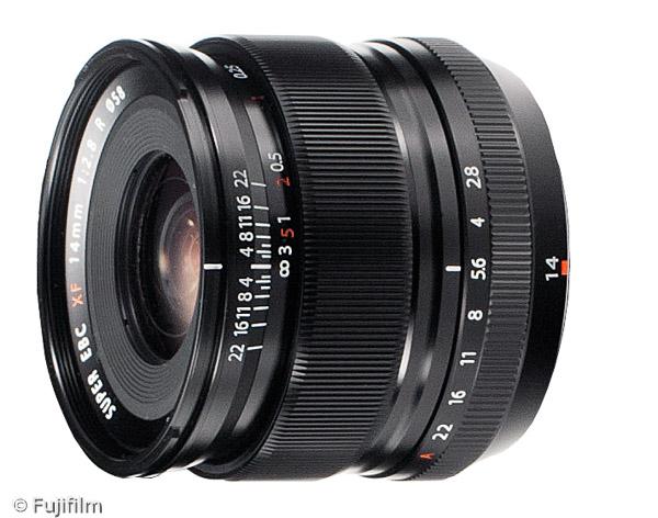 FUJINON XF 14mm F2.8 R (Bild: Fujifilm)