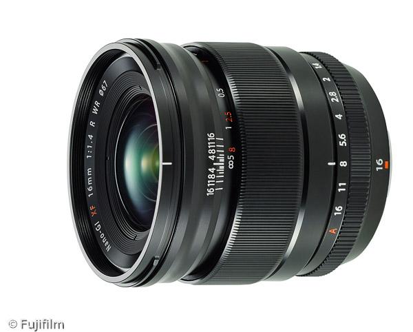 FUJINON XF 16mm F1.4 R WR (Bild: Fujifilm)