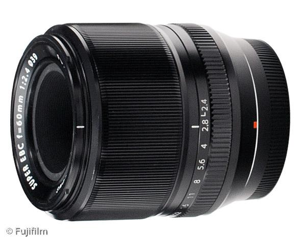 FUJINON XF 60mm F2.4 R Macro (Bild: Fujifilm)