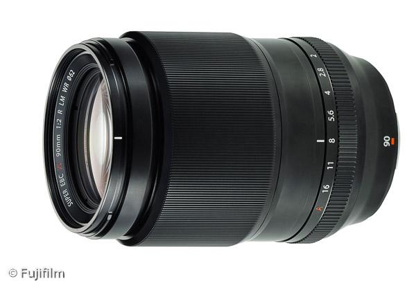 FUJINON XF 90mm F2 R LM WR (Bild: Fujifilm)