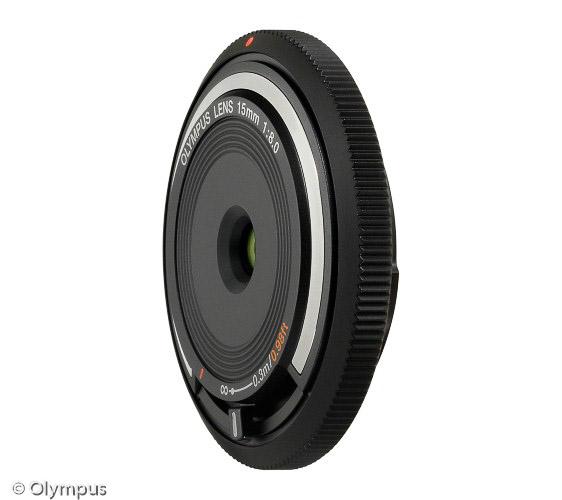 MFT Objektiv Olympus Body Cap Lens 15mm