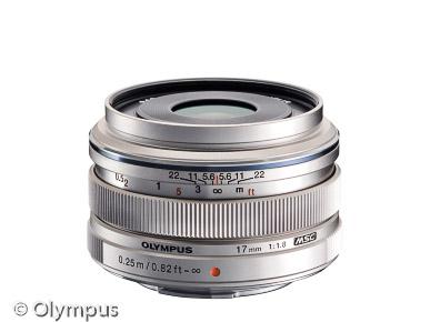 MFT Objektiv Olympus M.Zuiko Digital 17mm