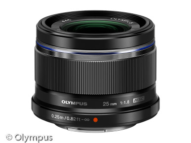 MFT Objektiv Olympus M.Zuiko Digital 25mm