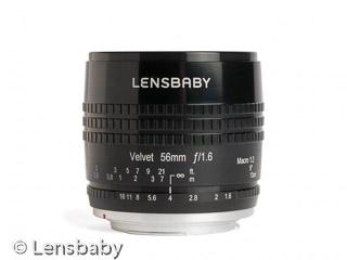 MFT Objektiv Lensbaby Velvet 56