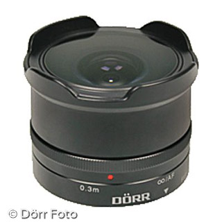 MFT Objektiv Dörr Fish-Eye 8,0/9,3mm