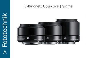 Sigma E-Bajonett